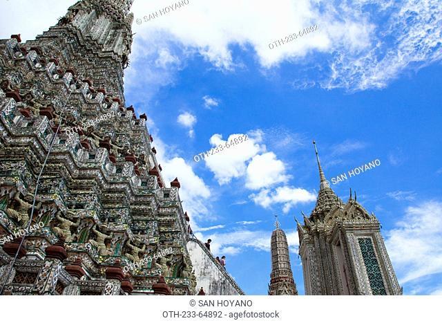 Wat Arun, Temple of Dawn, Bangkok, Thailand