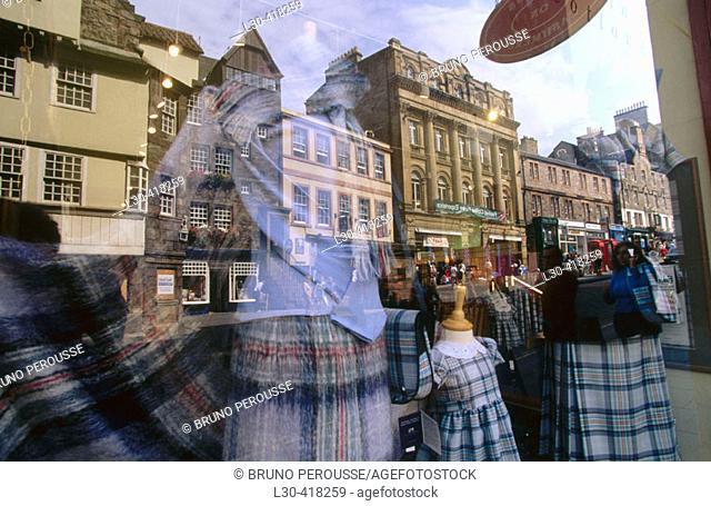Edinburgh. Scotland, UK
