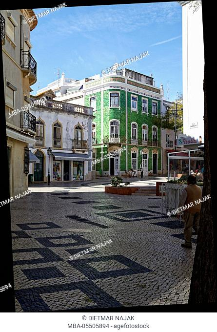historical old town of Lagos, Algarve, Portugal, Europe