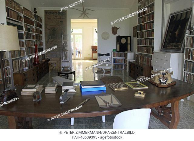 The Ernest Hemingway Museum, the Finca Vigia, former residency of the writer in San Francisco de Paula, about ten miles away from Havana