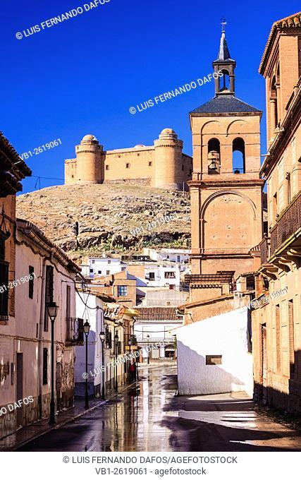 Castle and village of La Calahorra. Granada, Andalusia, Spain