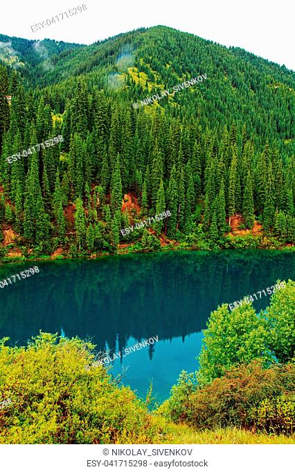 Kolsay Lake is located in the southeast of Kazakhstan, near the border with China and Kyrgyzstan. This mountain lake belongs to the National Natural Park of...