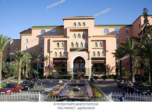 Sofitel Hotel in Marrakech  Morocco