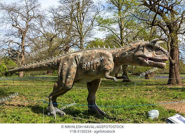 Carnotaurus, Jurassic Kingdom, Osterley Park, London