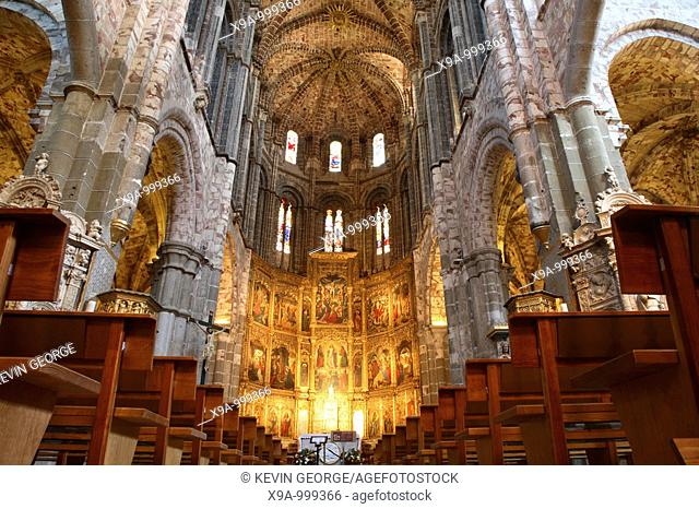 Cathedral, Avila, Castile and Leon, Spain