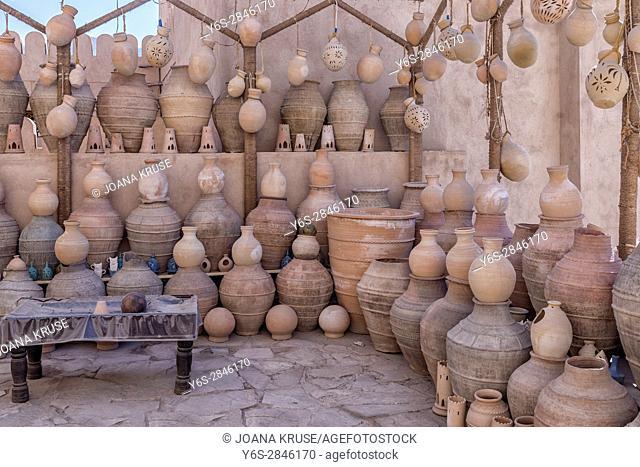 Souq in Nizwa, Oman, Middle East, Asia