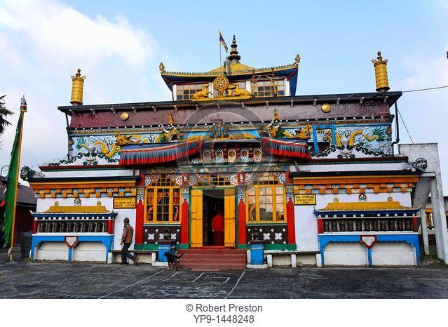 India - West Bengal - Darjeeling - the Buddhist monastery at Ghoom