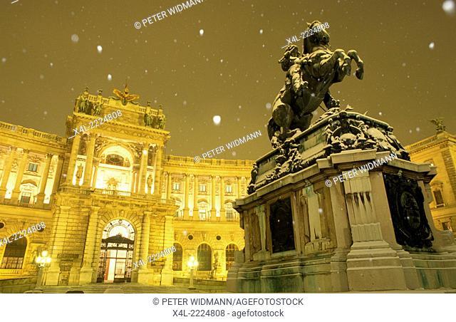castle Hofburg Vienna, Austria, Vienna, 1. district, Hofburg