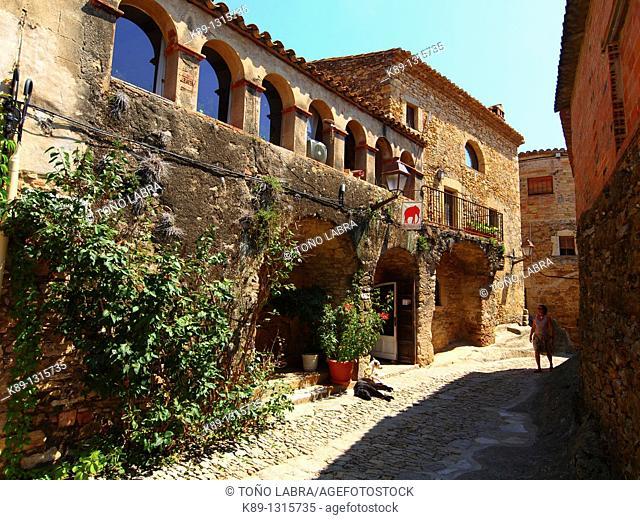 Peratallada  Medieval town  Girona  Catalunya  Spain