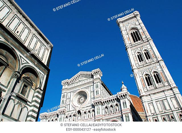 The Duomo and Campanile. Florence. Italy