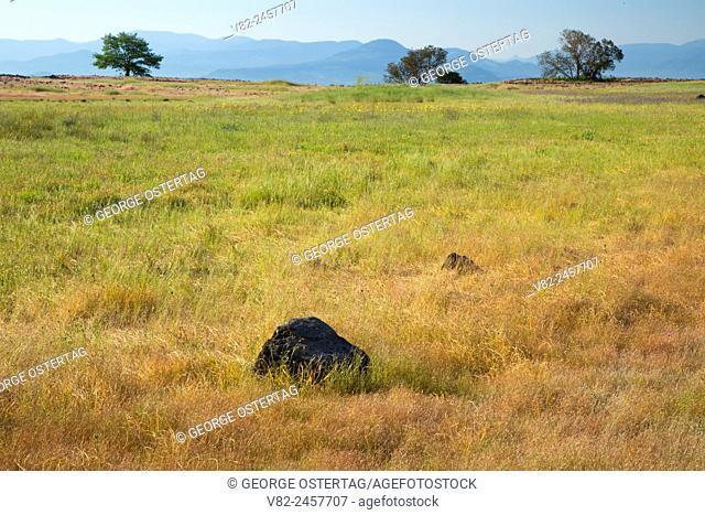 Grassland plateau, Upper Table Rock Preserve, Medford District Bureau of Land Management, Oregon