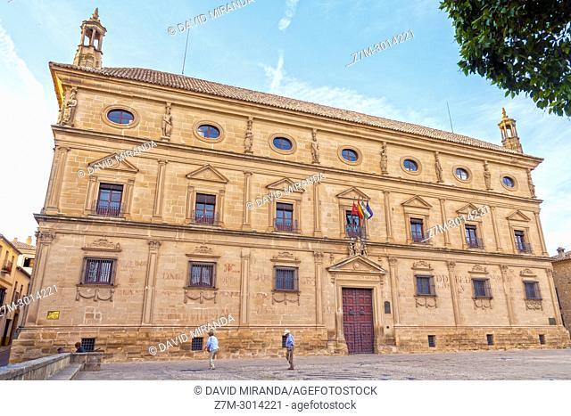Palacio de las Cadenas or Palacio Vázquez de Molina. Town Hall of Ubeda. Jaén. Andalusia. Spain