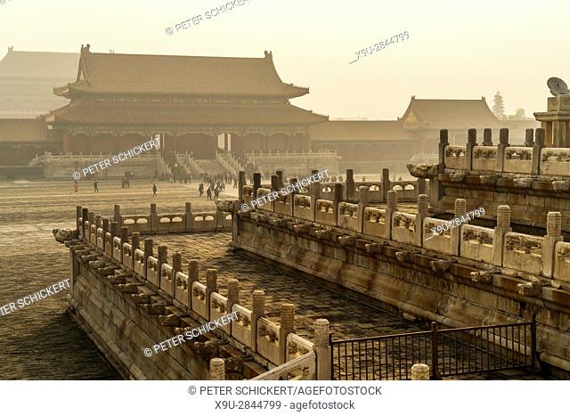 the Forbidden City, Beijing, People's Republic of China, Asia