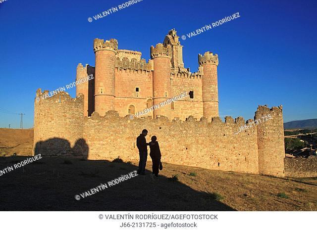 castle Turégano. Segovia