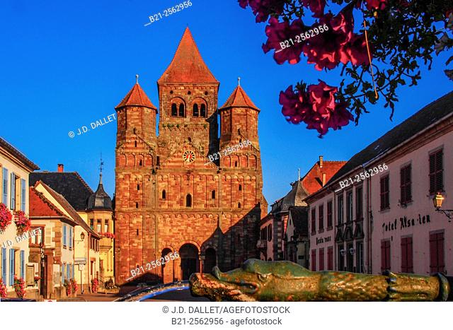 Marmoutier Abbey Benedictine monastery in the commune of Marmoutier, Bas-Rhin, Alsace, France
