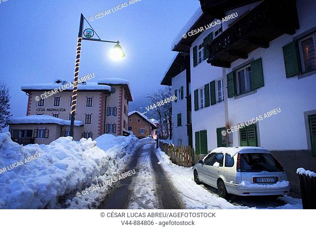 Calle Tobie, Canazei. Vall di Fassa, Trentino. Italia
