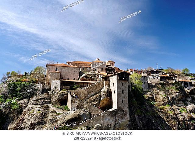 Holy Monastery of Great Meteoron, Kastraki, Greece