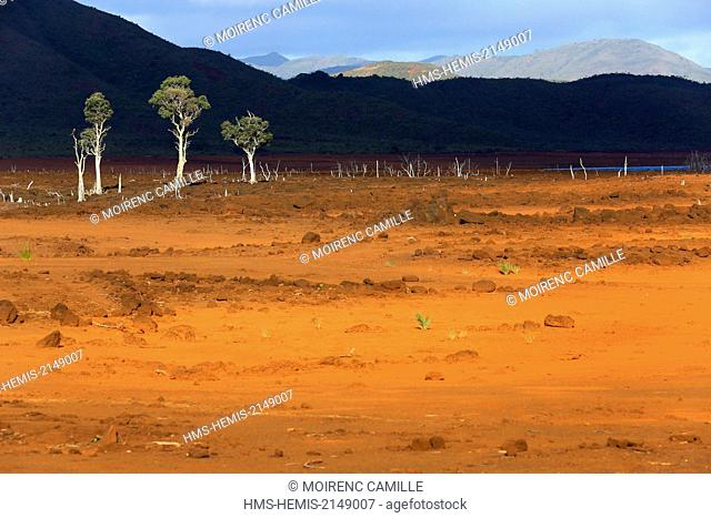 France, New Caledonia, Grande-Terre, Southern Province, Grand South, Lake Yate