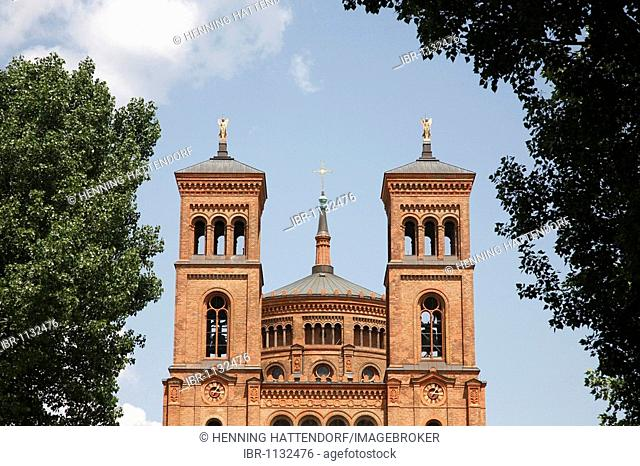 Saint Thomas Church in Berlin, Germany