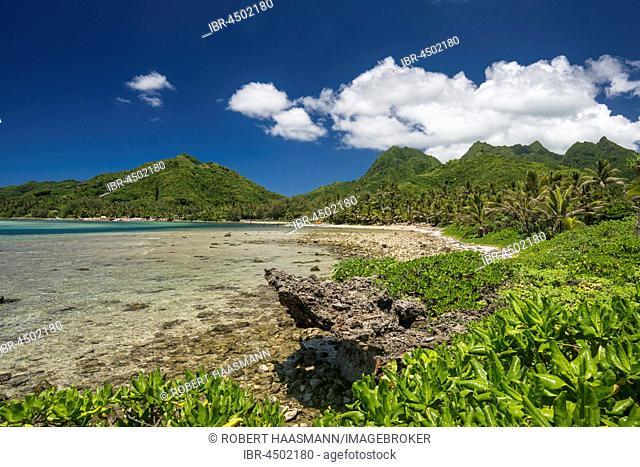 Bay near Muri, Rarotonga, Cook Islands