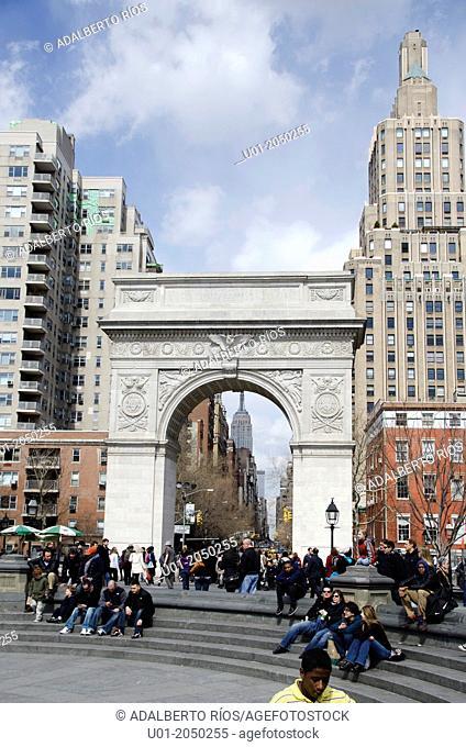 Washington Square Arch, New York City
