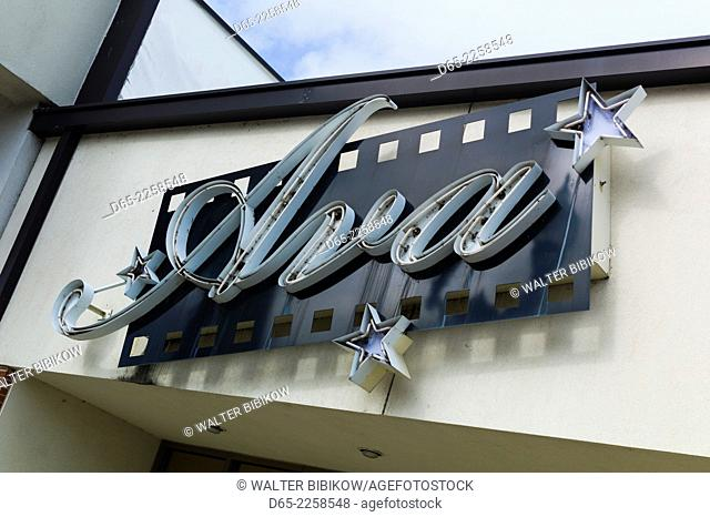 USA, North Carolina, Smithfield, Ava Gardner Museum, museum to famous film star born in Smithfield, exterior