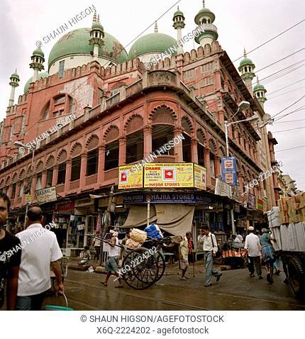Nakhoda Mosque in Calcutta (Kolkata) in West Bengal in India