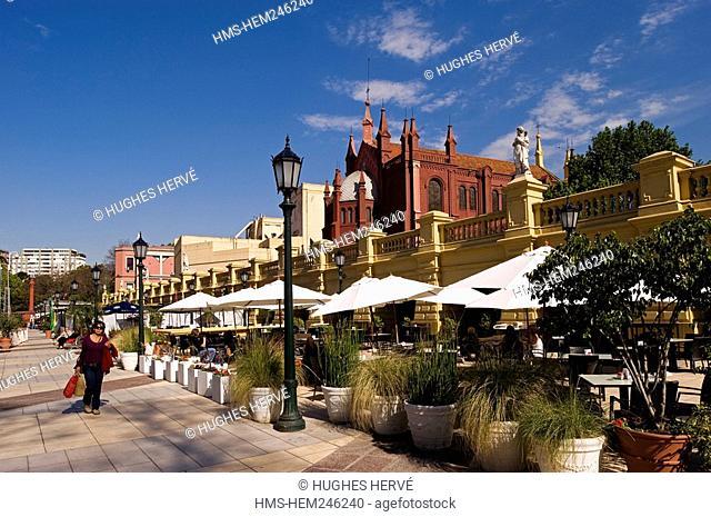 Argentina, Buenos Aires, La Recoleta Park, terraces