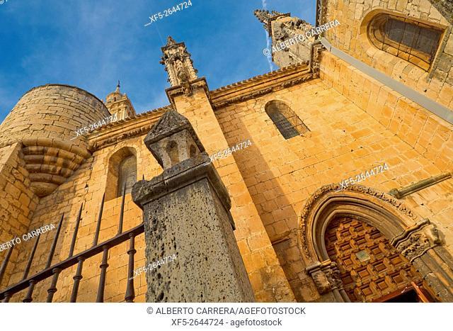 Cathedral of Santa María de la Asunción, Cathedral of El Burgo de Osma, 13th century, Gothic Style, Spanish Property of Cultural Interest, El Burgo de Osma