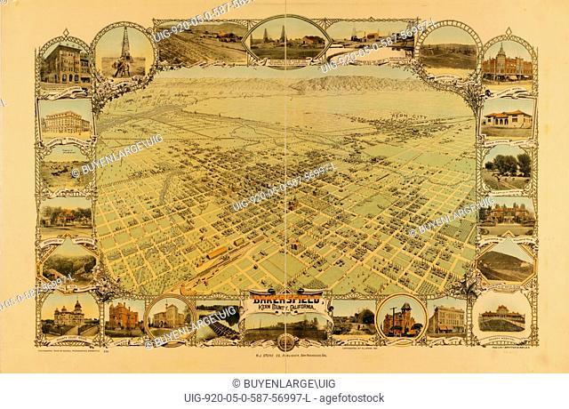 Bakersfield, Kern County, California, 1901