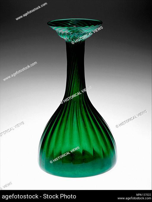 Clutha vase. Designer: Christopher Dresser (British, Glasgow, Scotland 1834-1904 Mulhouse); Manufacturer: James Couper and Sons, Glasgow; Date: ca