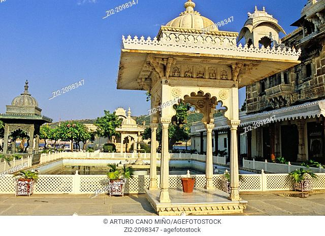 Jagmandir Island Palace, Udaipur, Rajasthan state, India