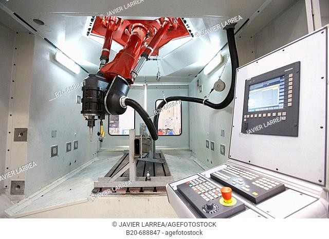 Tricept, Machine Tools, Kinematic Technology