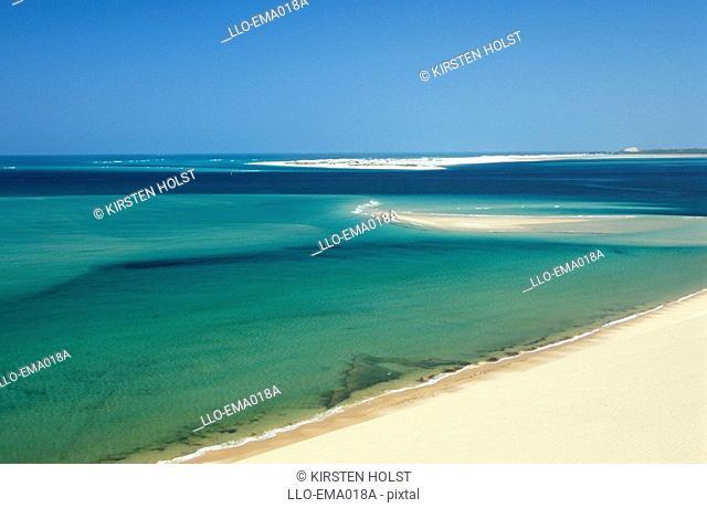 Beach Scene  Bazaruto Island, Mozambique, Southern Africa