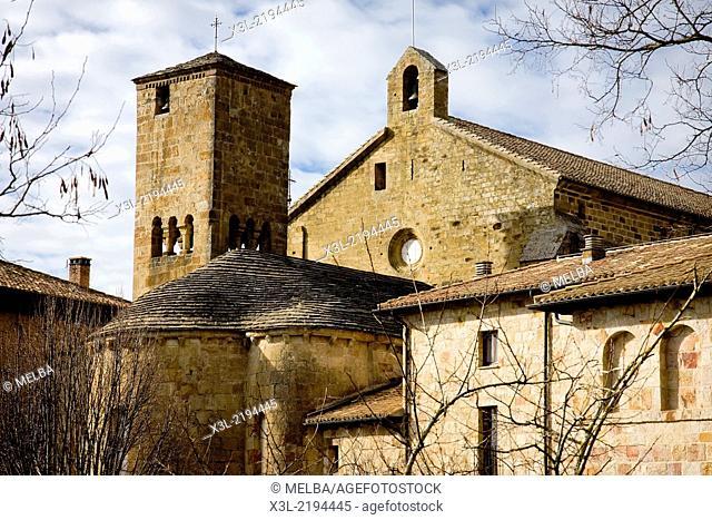Leyre Monastery. Navarre. Spain