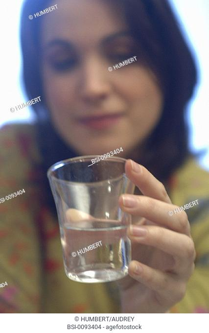 THIRSTY WOMAN<BR>Model