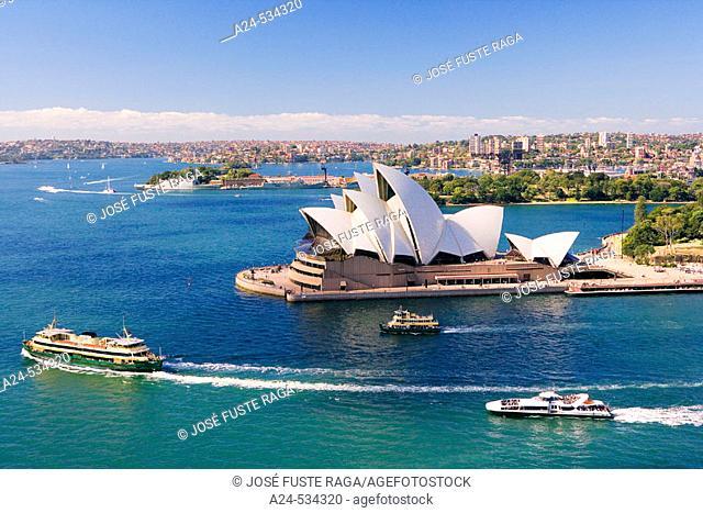 The Opera House. Sydney City. Australia. April 2006