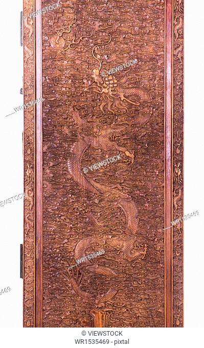Pattern on antique furniture