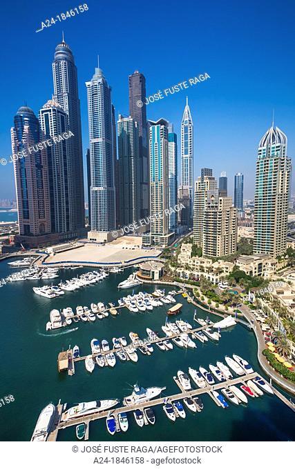 United Arab Emirates UAE , Dubai City , Dubai Marina