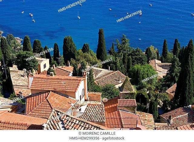 France, Alpes Maritimes, Roquebrune Cap Martin