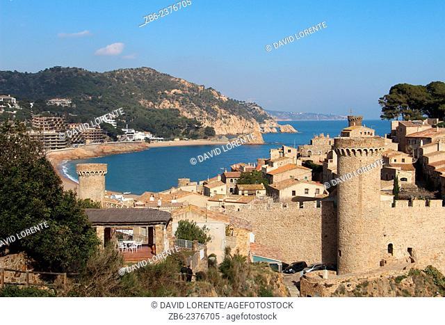 Tossa de Mar, Costa Brava, Girona province, Catalonia, Spain