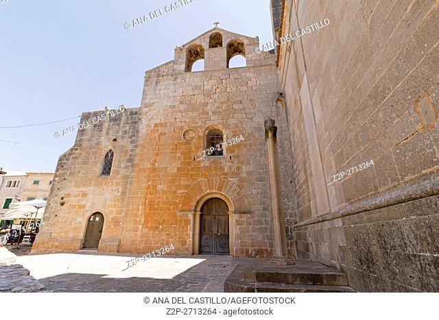 Majorca island Santanyi village in Mallorca Balearic island. Roser chapel