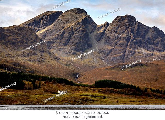 Blaven (Bla Bheinn) Mountain, Isle of Skye, Scotland
