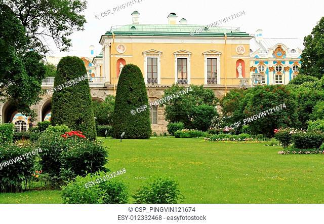 Freylin garden in the Catherine Park of Tsarskoye Selo