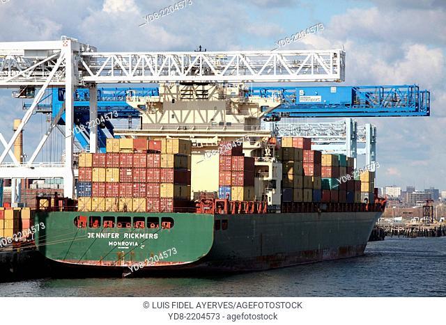 Port of Boston, Massachusetts, USA