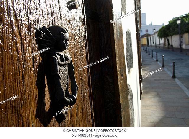 Door Knocker,Los Llanos De Aridane,La Palma,Canary Islands, Spanish  Archipelago