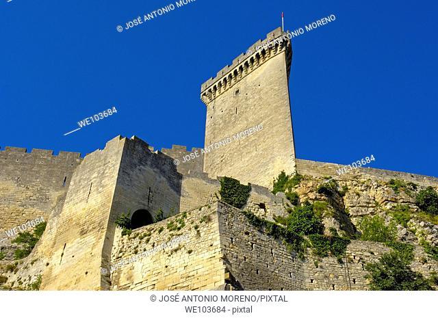 Castle, Beaucaire, Gard, Languedoc-Roussillon, France