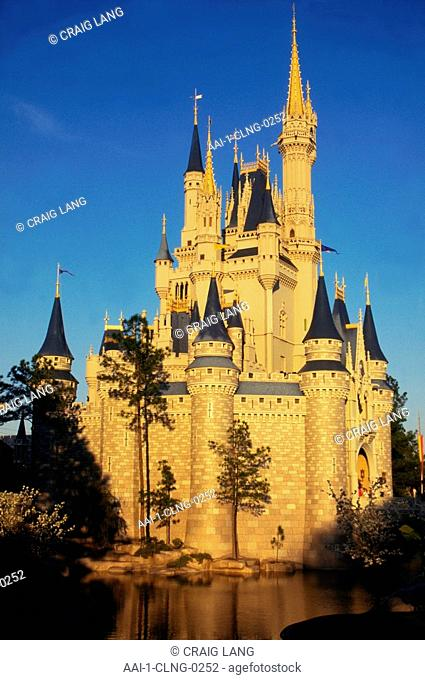 Cinderella's Castle, Disney World, Orlando, Florida, USA