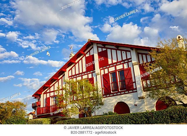 Sokoburu, Hendaye, Aquitaine, Pyrenees Atlantiques, France
