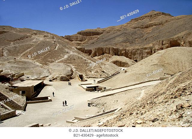 Valley of the Kings, Luxor west bank. Egypt